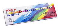 Пастель масляная 24 цвета Dong-A