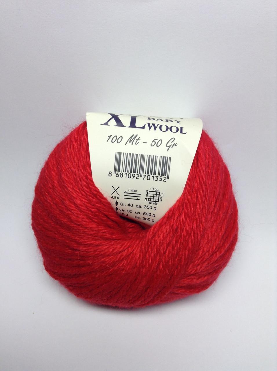 Пряжа XL baby wool Gazzal