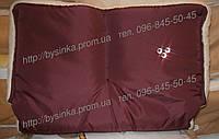 Муфта на коляску детскую для коляски детской или санки зимняя на овчина детская, фото 1