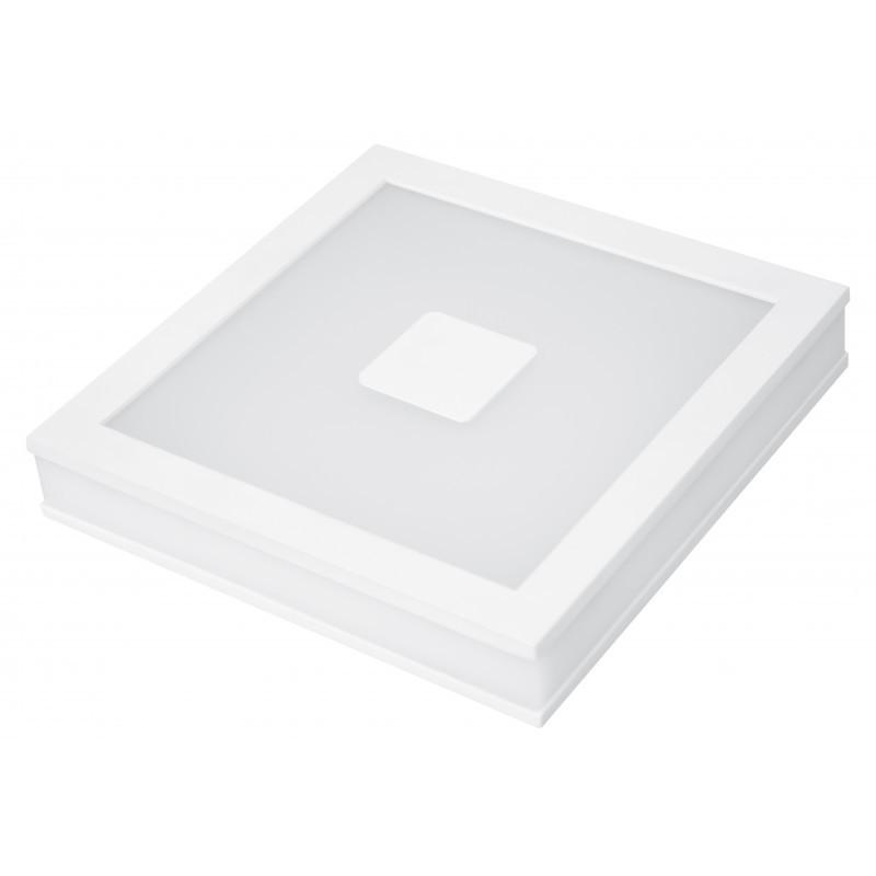 Cветильник LED  Eurolamp 24w 4000K накладной квадратный 220мм