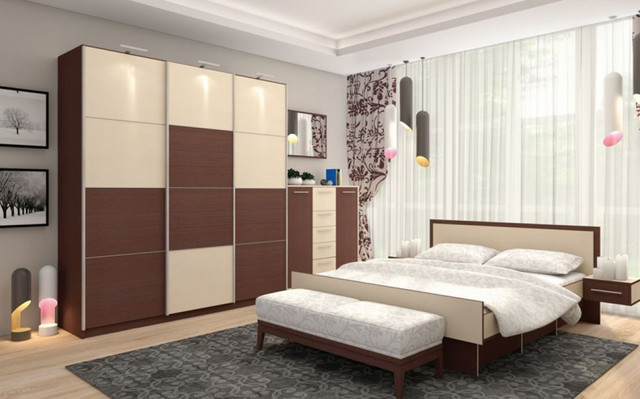 Модульная спальня Комфорт (фото 2)