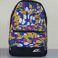 Рюкзак с принтом птиц