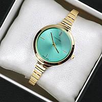 Часы женские Calvin Klein Omnia золото с мятой, магазин часы 2016