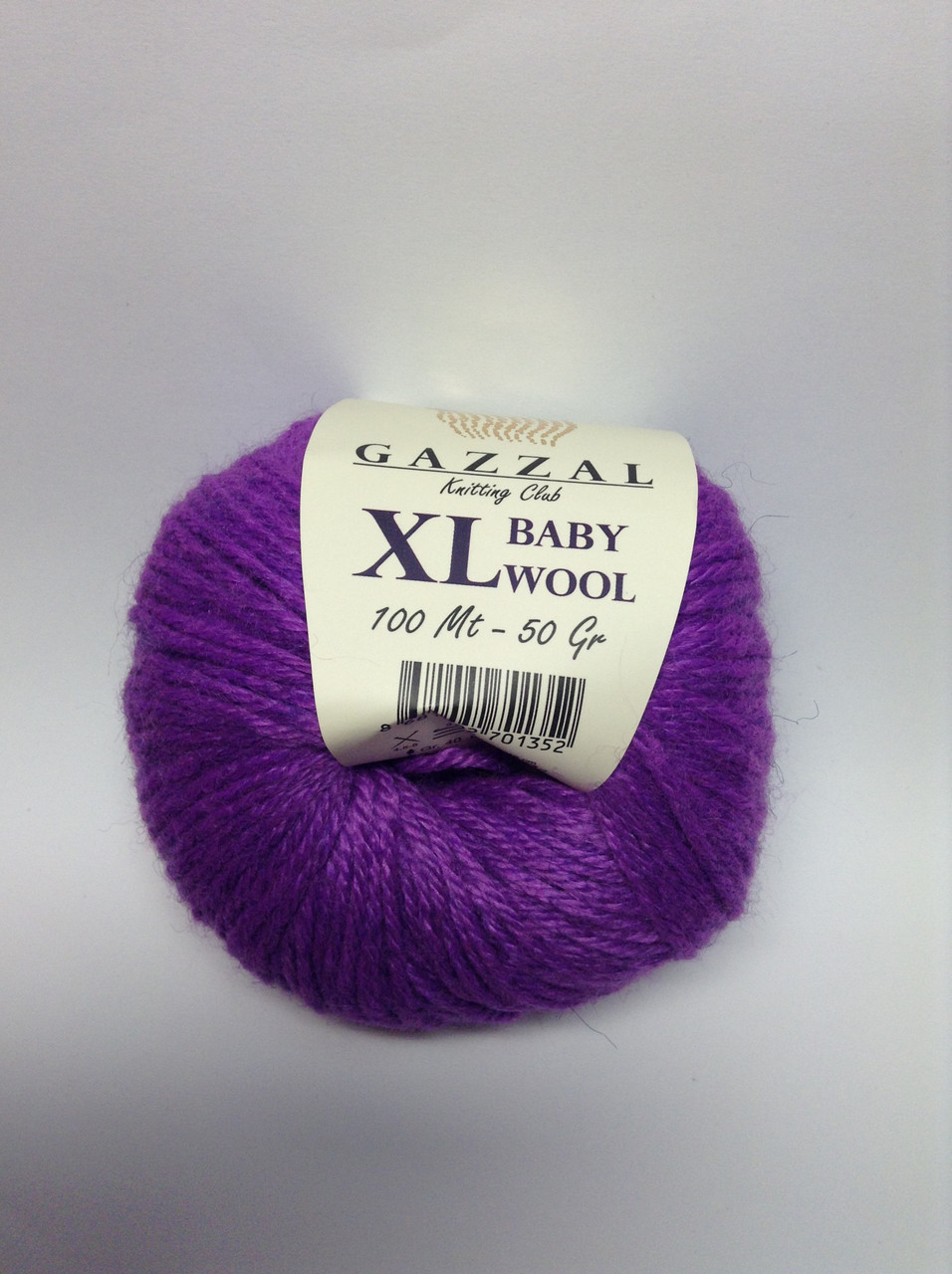 Пряжа XL baby wool Gazzal