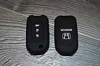 Силиконовый чехол на ключ Honda, фото 1