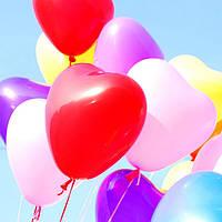 """Воздушные шары латексные  пастель """"Микс цветов"""" 25 см Италия"""