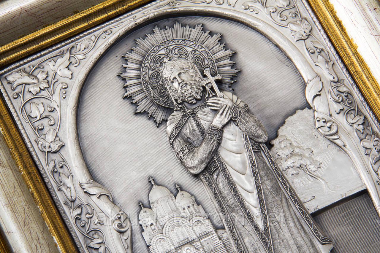Святой князь Владимир ростовая икона.