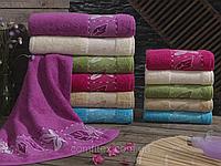 Набор махровых полотенец для лица Sikel Cınar Хлопок - Турция sl-014