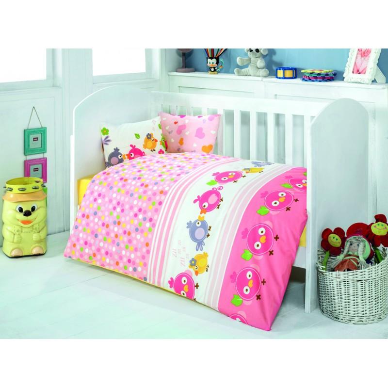 Постельное белье для младенцев Zuzu Pembe ранфорс Eponj Home