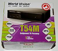 Цифровой эфирный ресивер World Vision T54M DVB-T2