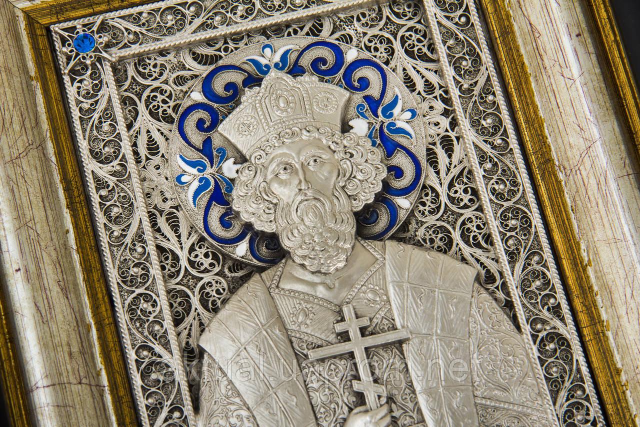 Икона святой князь Владимир скань.