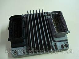 Электронный блок управления двигателем 1.4  Авео-3 96436779 XAJZ