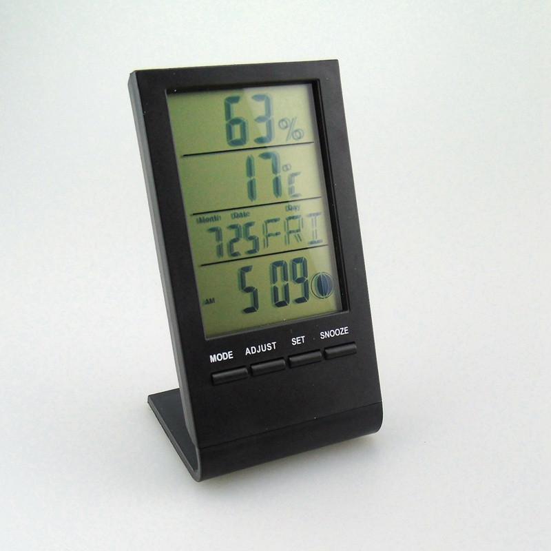 Годинник термометр цифровий гігрометр KETOTEK