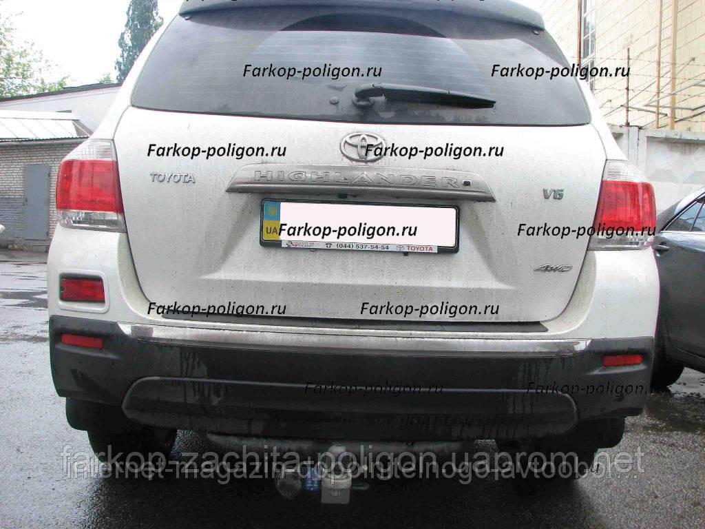 Фаркоп швидкознімний Toyota Highlander з 2010 р.