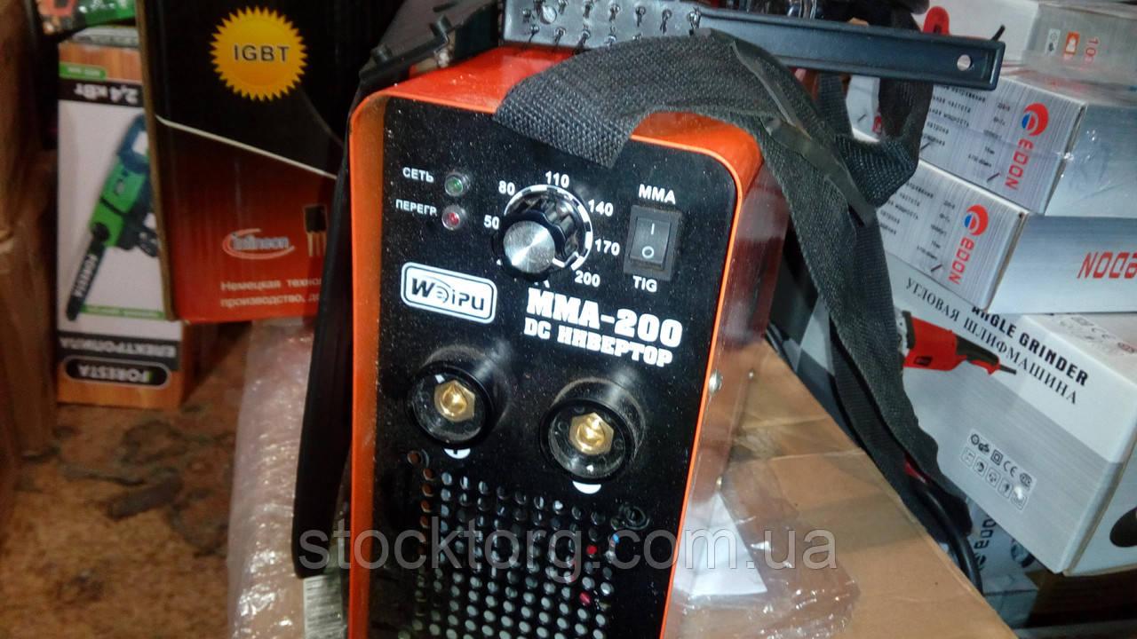 Сварочный инвертор Weipu MMA 250