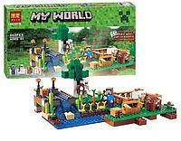 "Конструктор Bela My World ""Ферма"" 10175 (аналог Lego Minecraft 79044) 262 дет,"