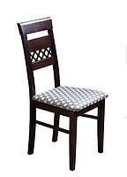 Надежный деревянный стул из массива хвойных пород деревьев. Модель ЖУР-7
