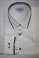 Мужская рубашка с длинным рукавом айвори Nens