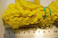 Тесьма вьюнок желтая