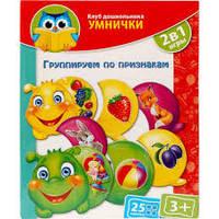 """Розумничок """"Vladi Toys"""" """"Группируем по признакам"""" №1306-02"""