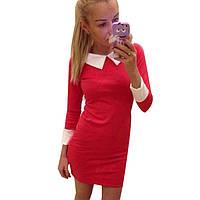 Платье Красотка красное
