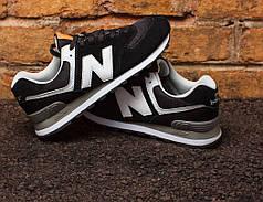 "Кроссовки New Balance 574 ""Black/White"""