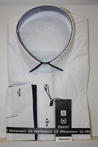 Мужская рубашка айвори Weismen, фото 2