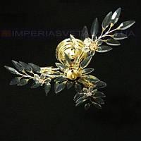 Люстра хрустальная припотолочная IMPERIA трехламповая LUX-450542