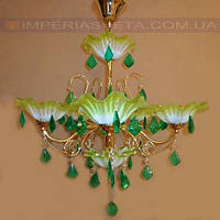 Люстра со свечами хрустальная IMPERIA шестиламповая LUX-401341