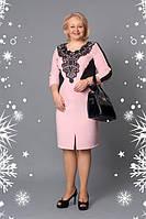 Платье новинка модное Шарлиз больших размеров праздничное  в размерах 52, 54, 56, 58 оптом
