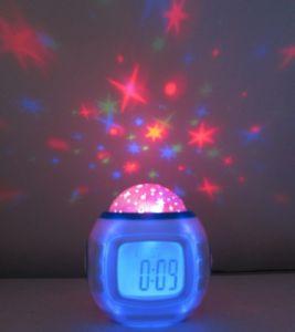 Часы, будильник, Звездное небо, релакс