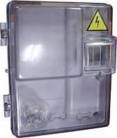 Коробка герметик для 1-фазного лічильника зі склом (20)