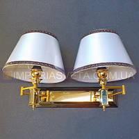 Классическое бра, настенный светильник IMPERIA двухламповое LUX-450065