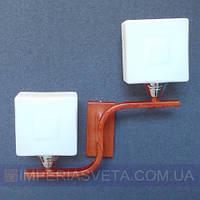 Декоративное бра, светильник настенный IMPERIA двухламповое LUX-464305