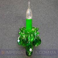 Хрустальное бра, светильник настенный Preciosa одноламповое декоративное LUX-320221