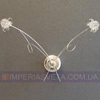 Светильник бра, настенное галогеновое TINKO двухламповое LUX-104020