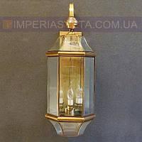Тиффани бра, светильник настенный TINKO трёхламповое LUX-364205