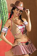 Женское эротическое белье костюм Cowgirl