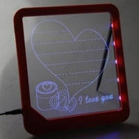 Доска для рисования LED, неоновая,светодиодная