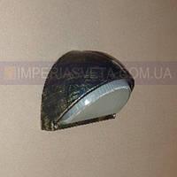 Уличный накладной светильник, влагозащищенный IMPERIA одноламповый антивандальный LUX-342634