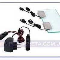 Мебельный светильник, подсветка SKOFF Набор для освещения стеклянных полок на 2 клипсы LUX-446104