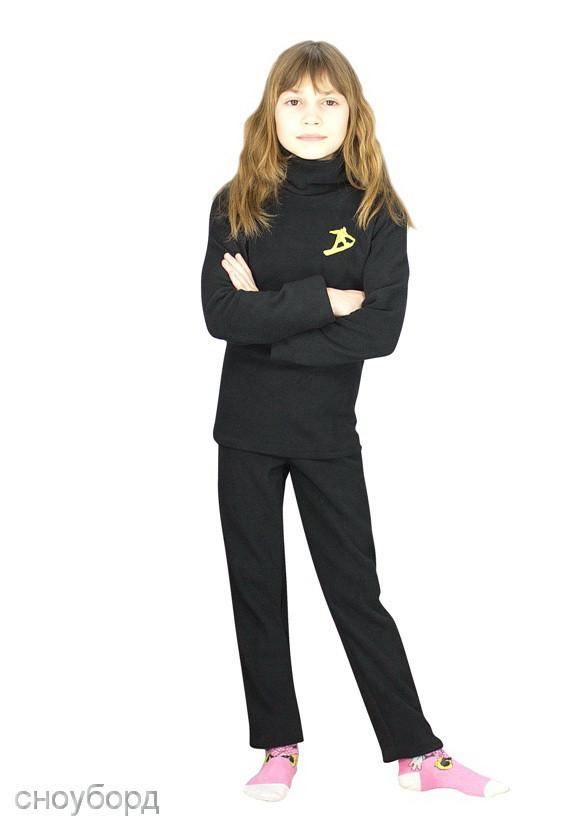 комплект детского термобелья с водолазкой сноубордист - фото teens.ua