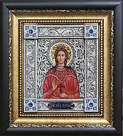 Святая Марина скань икона