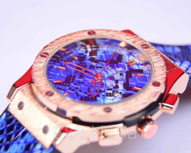 Часы мужские Hublot Big Bang Boa Bang голубой