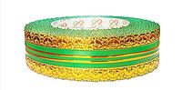 Лента флористическая (4 см х 25 ярдов) Зеленый