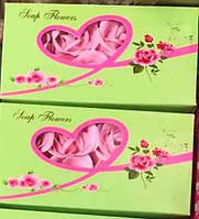 Мыльные розы для ванной, Сувенир мыльные лепестки роз, двойная упаковка