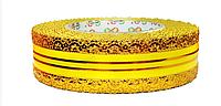 Лента флористическая (4 см х 25 ярдов) Желтый
