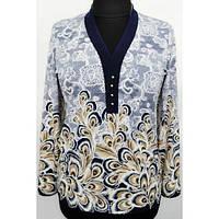 Элегантная женская блуза большого размера р.50,52,54,56,58,60