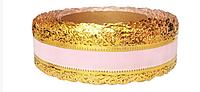 Лента флористическая (4 см х 25 ярдов) Светло-розовый