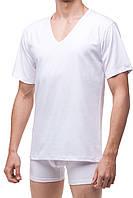 Футболка мужская короткий рукав Cornette М-XXL цвет Белый